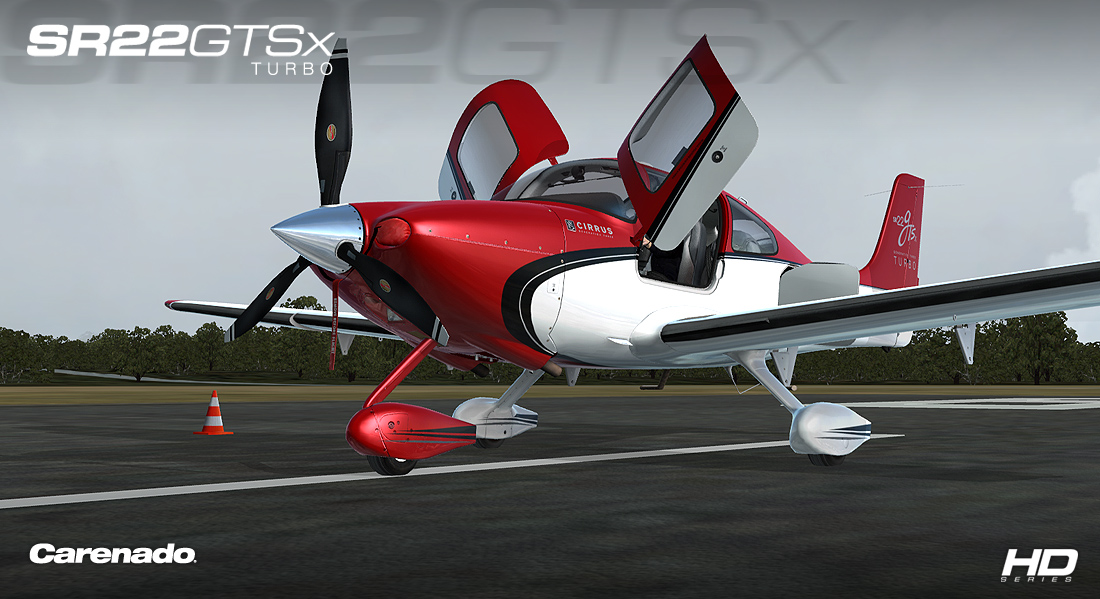 Carenado - SR22 GTSx Turbo - HD Series (FSX/P3D)